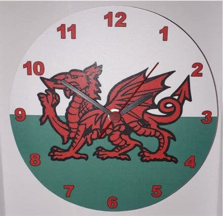 Lark Rise Designs Welsh Dragon Wall Clock