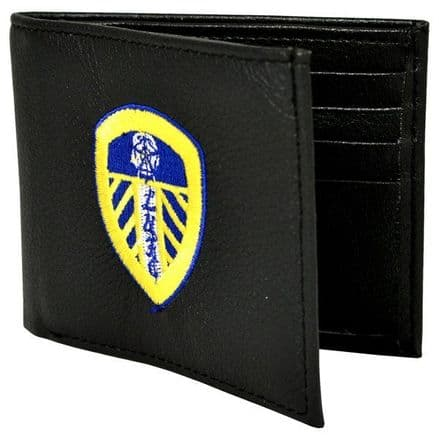 Leeds United Embroidered PU Leather Wallet