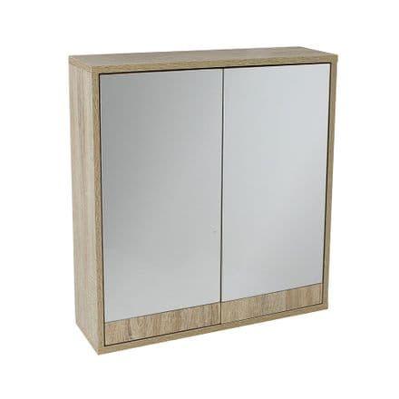 Lloyd Pascal Maia Mirrored Bathroom Wall Cabinet