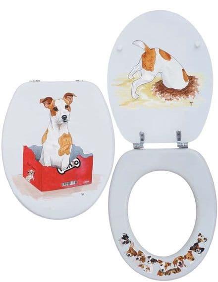 Looprints Jack Russell Novelty Toilet Seat