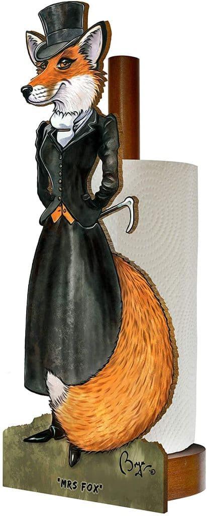 Looprints Mrs Fox Spare Toilet/Kitchen Roll Holder