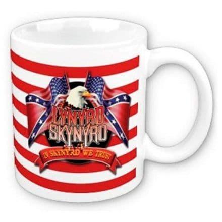 Lynyrd Skynyrd Eagle & Flags Boxed Mug