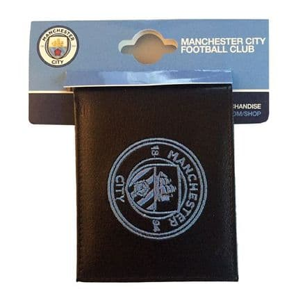 Manchester City Embroidered PU Leather Wallet