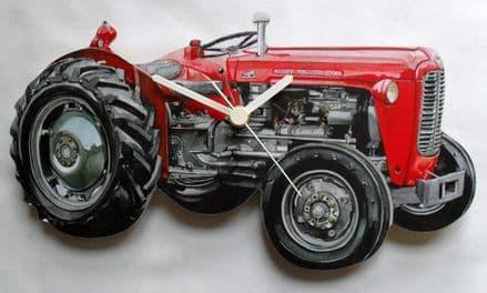 Massey Ferguson Tractor Wall Clock