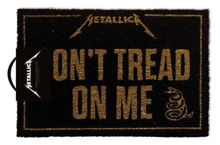 Metallica (Don't Tread On Me) Doormat