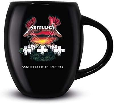 Metallica Master Of Puppets Oval Mug