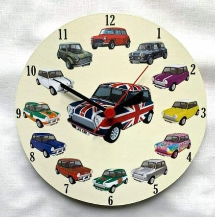 Mini Collage Wall Clock