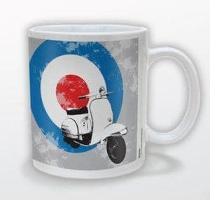 Mod Scooter With Target Mug