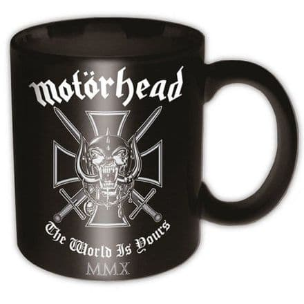 Motorhead Iron Cross Ceramic Mug