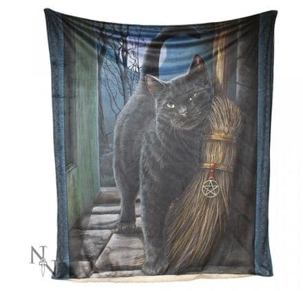 """Nemesis Now Lisa Parker """"A Brush With Magick"""" Throw / Blanket"""