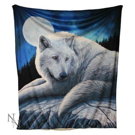 Nemesis Now Lisa Parker Guardian of the North Fleece Throw / Blanket