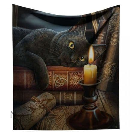 """Nemesis Now Lisa Parker """"Witching Hour"""" Throw / Blanket"""