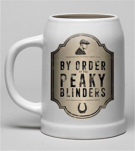 Peaky Blinders By Order Ceramic Stein