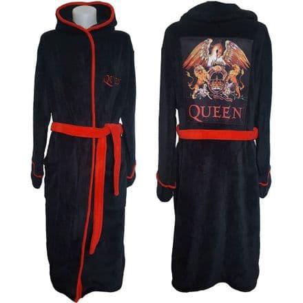Queen Unisex Bathrobe: Classic Crest