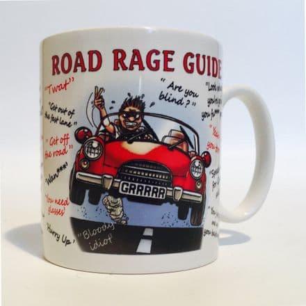 Road Rage Guide Ceramic Mug
