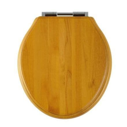 Roper Rhodes Greenwich Antique Pine Finish Soft Close Toilet Seat