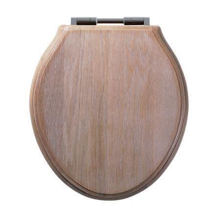 Roper Rhodes Greenwich Limed Oak Soft Close Toilet Seat