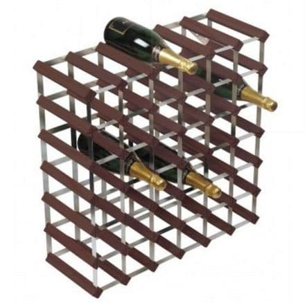 RTA 42 Bottle Stained Pine Wine Rack Kit  WINE3019