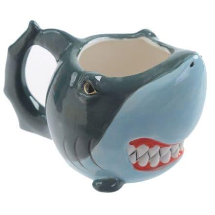 Shark Shaped Ceramic Mug