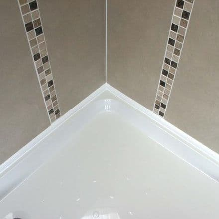 Shower Tray Seal ShowerSeal Ultra  1m x 1m  2 Sides