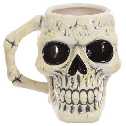 Skull Shaped Ceramic Mug