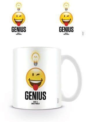 "Smiley ""Genius"" Mug"