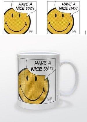 """Smiley """"Have A Nice Day"""" Mug"""