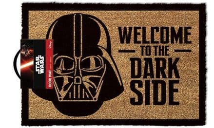 Star Wars Welcome To The Dark Side Door Mat