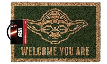 Star Wars Yoda Door Mat