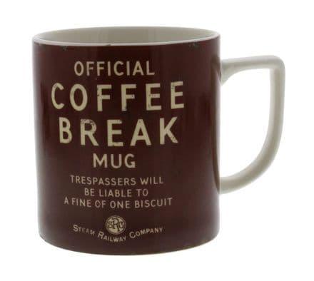 Steam Railway Company Coffee Break Mug