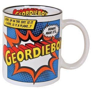 Super Hero Geordieboy - Ceramic Mug