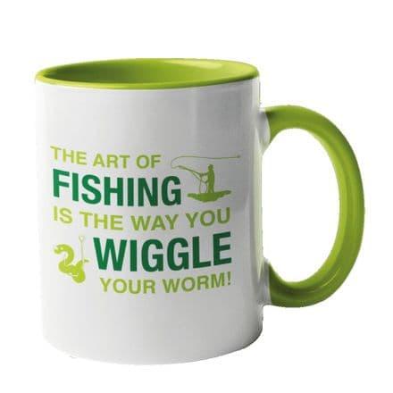 The Art Of Fishing Ceramic Mug