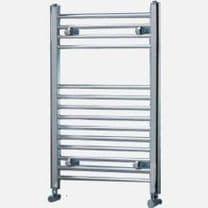 Titan Chrome Flat Heated Ladder Rails