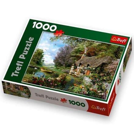 Trefl  Cottage 1000 Piece Jigsaw Puzzle