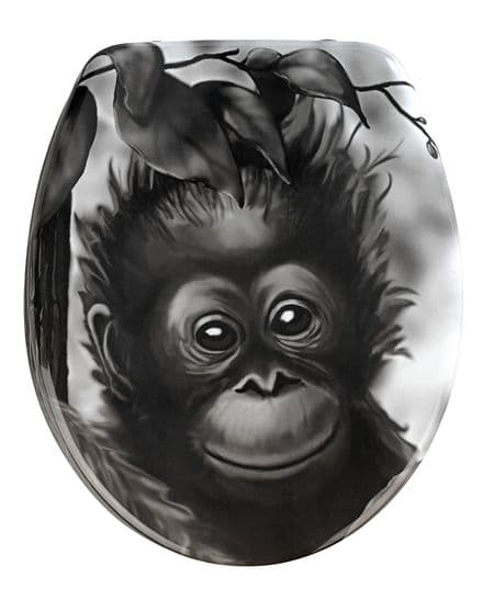 Wenko Monkey Novelty Toilet Seat