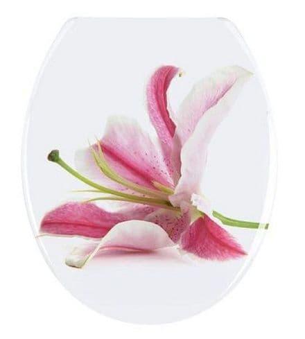 Wenko Orchid Novelty Toilet Seat