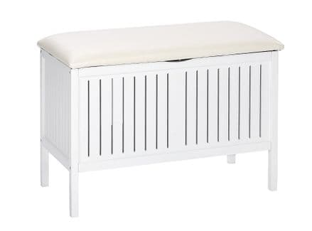 Wenko Oslo White Bathroom & household Bench