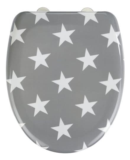 Wenko Stella Star Soft Closing Toilet Seat