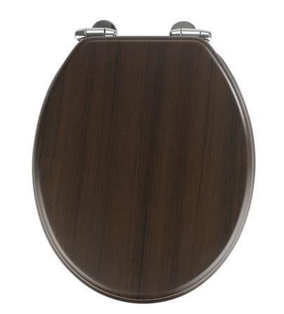 Wenko Wenge Soft Close Toilet Seat