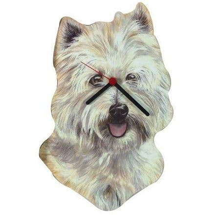Westie Terrier Wall Clock