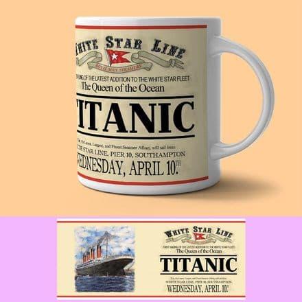White Star Line Titanic Mug