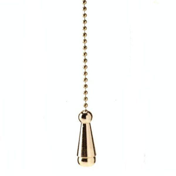WML Polished Brass Light Pull