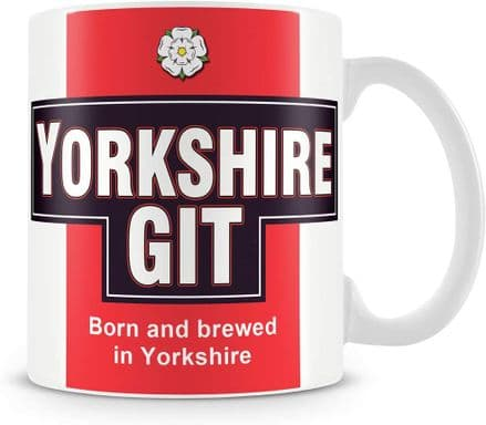 Yorkshire Git Ceramic Mug