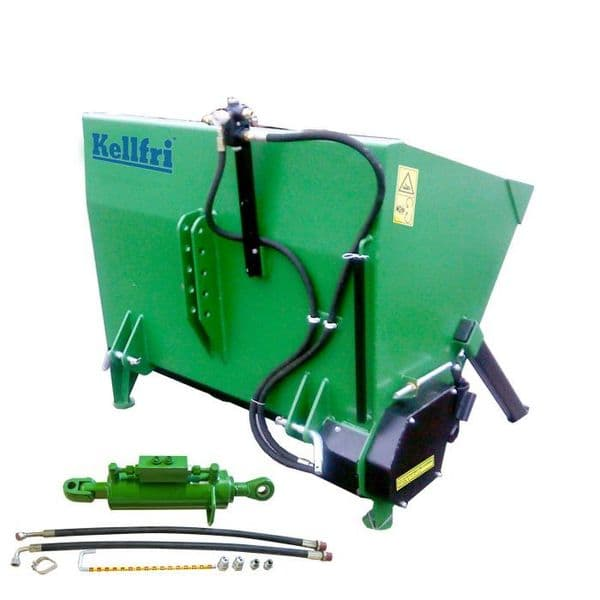 Gritter, 1.3 m incl. cylinder and hose -Tractor-mounted gritter - special price EX DEMO