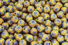 25 x 13-14mm Handmade Polymer Clay Fimo yellow flower Beads - Transvaal Jaune