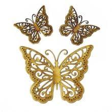 3 x Wooden Laser Cut Butterflies