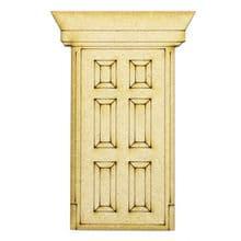 XL Fairy Door Design J 200x133cm - Wooden Laser Cut Shapes, Craft Blanks 3mm MDF