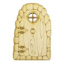 XL Fairy Door Design K 200x133cm - Wooden Laser Cut Shapes, Craft Blanks 3mm MDF