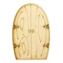 XL Fairy Door Design N 200x133cm - Wooden Laser Cut Shapes, Craft Blanks 3mm MDF