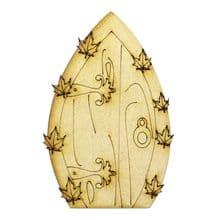 XL Fairy Door Design P 200x133cm - Wooden Laser Cut Shapes, Craft Blanks 3mm MDF